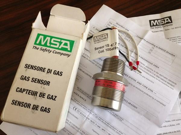 تصویر سنسور دتکتور گاز متان MSA